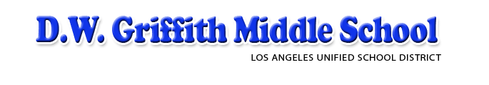 D.W. Griffith Middle School   Logo